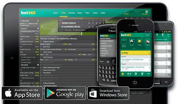 Vantagens do app bet365